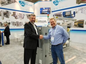 Golden Eagle Extrusions, Inc. Invests in 3rd ASHE Slitter Rewinder