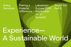Avery Dennison offers sustainability without sacrifice in 'A Sustainable World' at Labelexpo Europe 2019