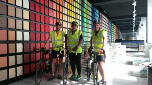 Antalis employee goes the extra mile in gruelling charity cycle