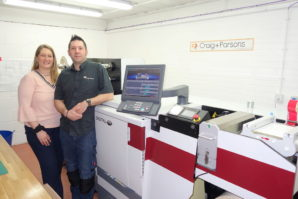 Craig & Parsons installs Mark Andy Digital One