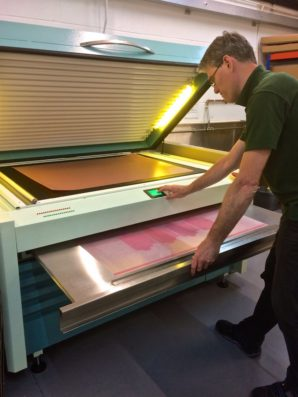 Dantex provide varnish application solution for Glossop Cartons