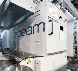 Edale and ebeam Technologies integrate EB curing option for Digicon 3000