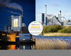 Iggesund Paperboard's mills receive the highest sustainability rating from EcoVadis