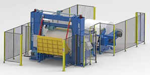 Alpha launch high speed paper winder