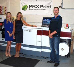 PRX projects 50 per cent growth after Mark Andy Digital One installation