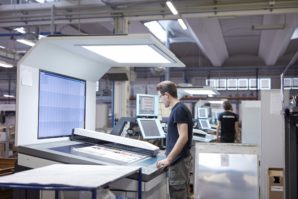 Komori H-UV curing systems in Europe