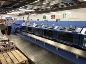 Printing company invests over one million pounds in print finishing technology