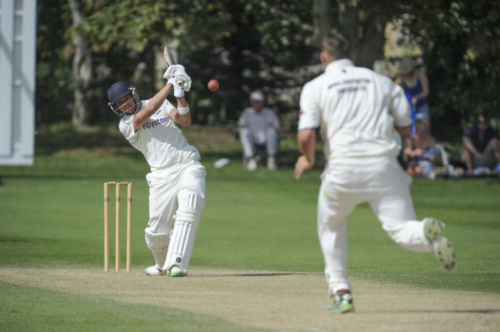 Foxton Cricket Club in action earlier this month