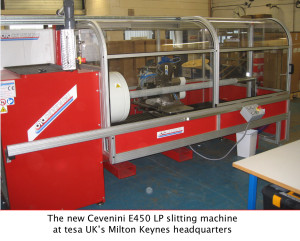 Tesa's New Slitting Machine