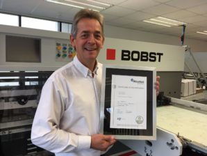 Top safety accreditation for BOBST UK and Ireland