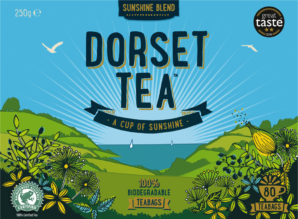 DORSET TEA LAUNCHES SUSTAINABLE PACKAGING AND COLLABORATION WITH MARINE CONSERVATION SOCIETY