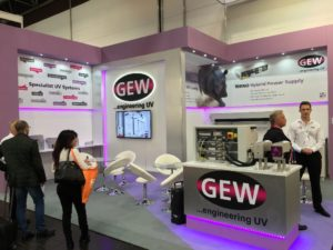 The GEW stand