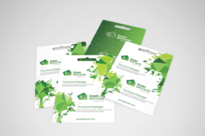 Digitally printed gift cards on thicker paperboard
