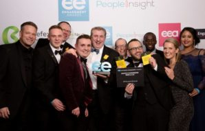 Involvement Packaging triumphs over UK's biggest brands at Employee Engagement Awards  ​
